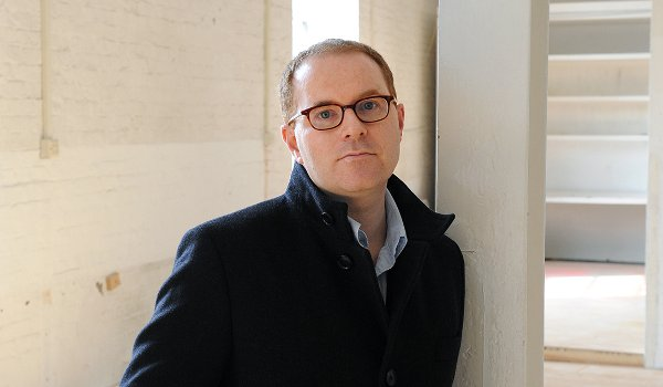 Conor McPherson at the Donmar Theatre's rehearsal space in Covent Garden. April 2013